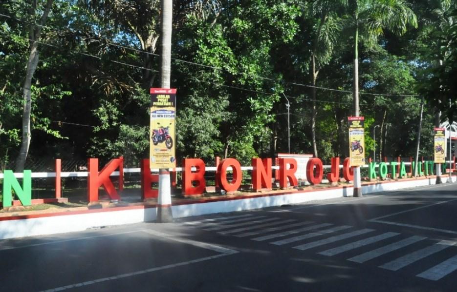 Kebon Rojo, Taman Kota Pamekasan Nan Asri