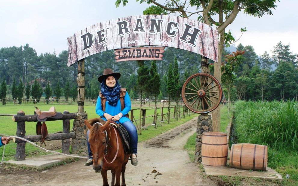 Berkuda di The Lodge Maribaya