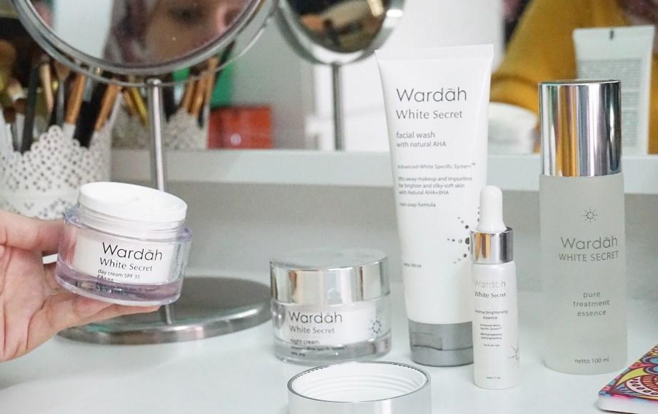 Review Wardah White Secret All Produk Beneran Bikin Putih Nggak Ya Dyah Ayu Alvinda
