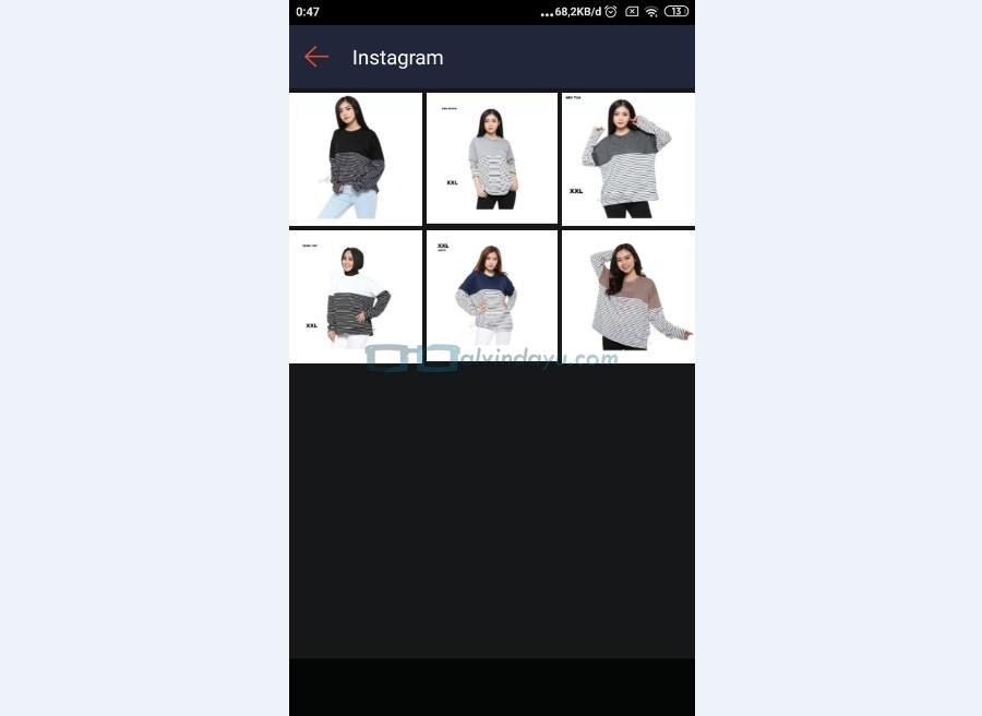 Pilih Gambar Produk Shopee untuk Diupload