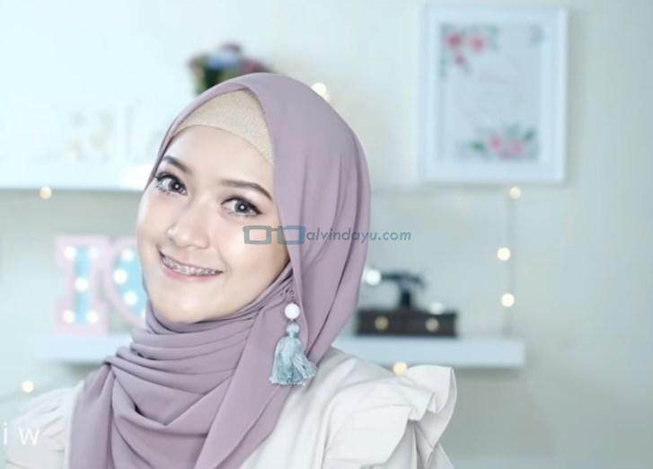 Tutorial Hijab Pashmina Pesta Pernikahan SELESAI