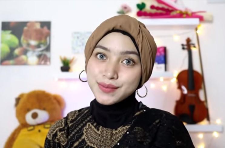 Tutorial Hijab Segi Empat Pesta Model Turban SELESAI