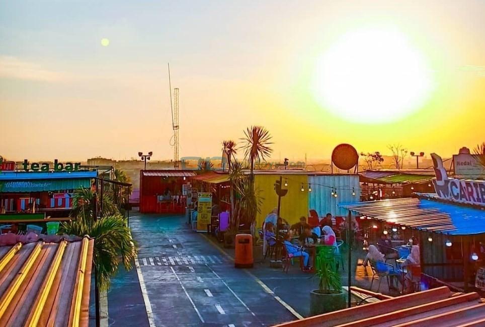 Lokasi Seven Sky Jogja Rooftop Lippo Mall
