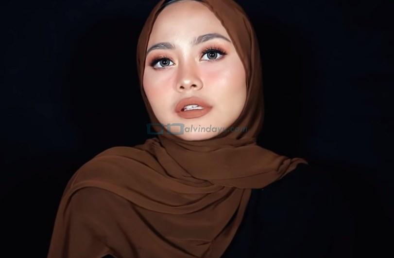 Tutorial Hijab Pashmina Diamond Simple dan Mudah SELESAI