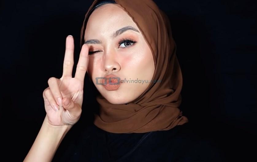 Tutorial Hijab Pashmina Diamond Simple untuk Remaja SELESAI