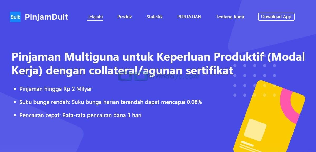 Cara Daftar dan Ajukan Pinjaman Online di PinjamDuit