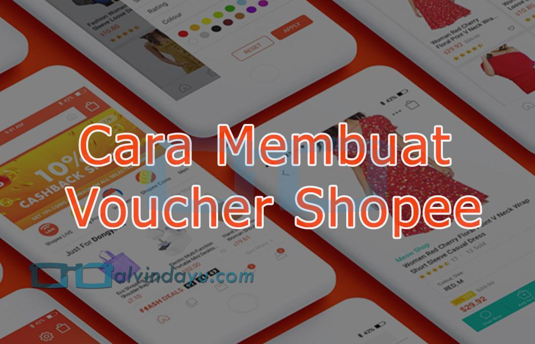 Cara Membuat Voucher Diskon Gratis Ongkir Shopee Mudah