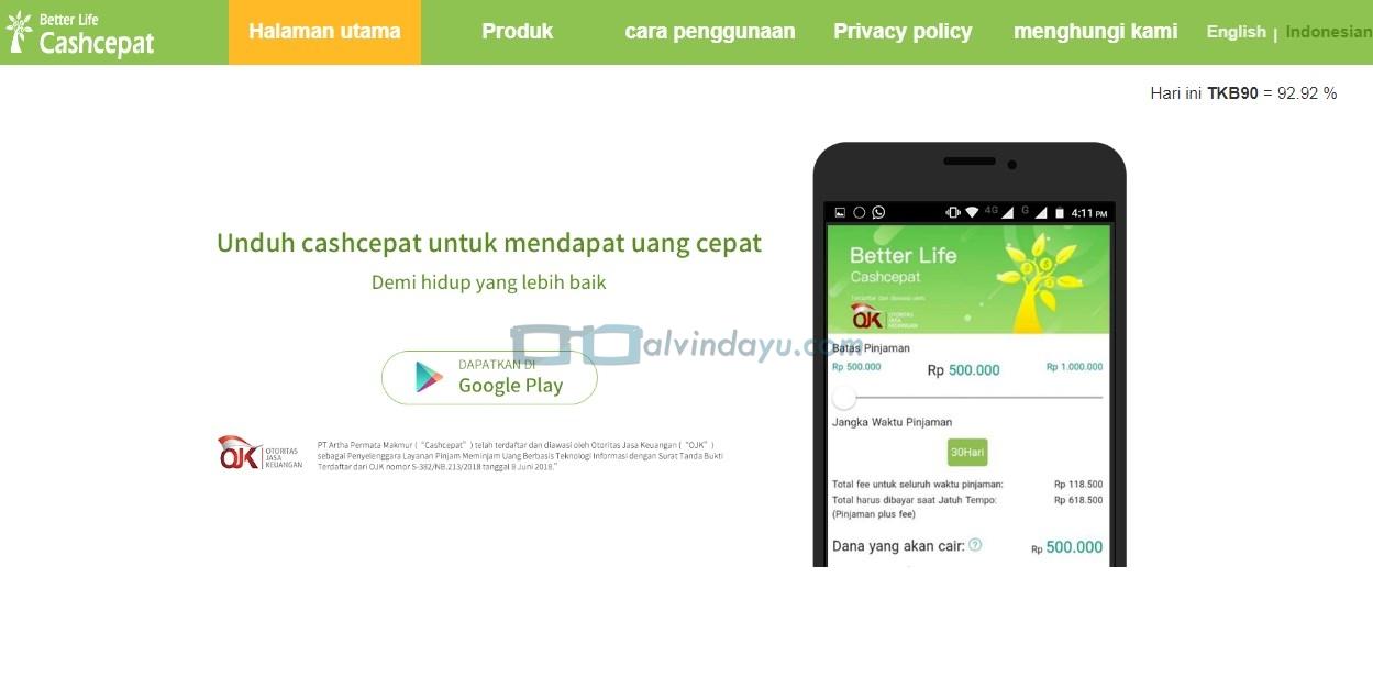 10 Daftar Aplikasi Pinjam Uang Online Terdaftar OJK ...