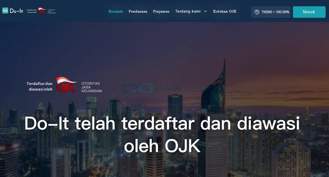 Cara & Syarat Pinjam Uang Online Do-it