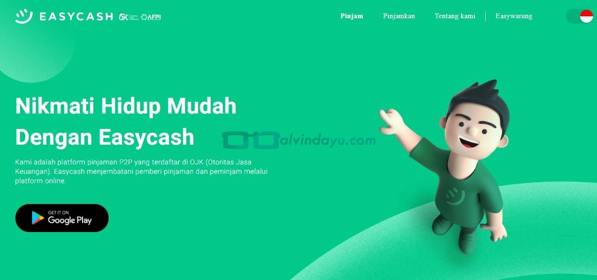 EasyCash, Pinjaman Uang Tunai Online Cepat Cair