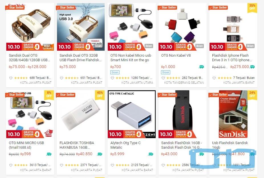 Hasil Pencarian Produk Terlaris Shopee
