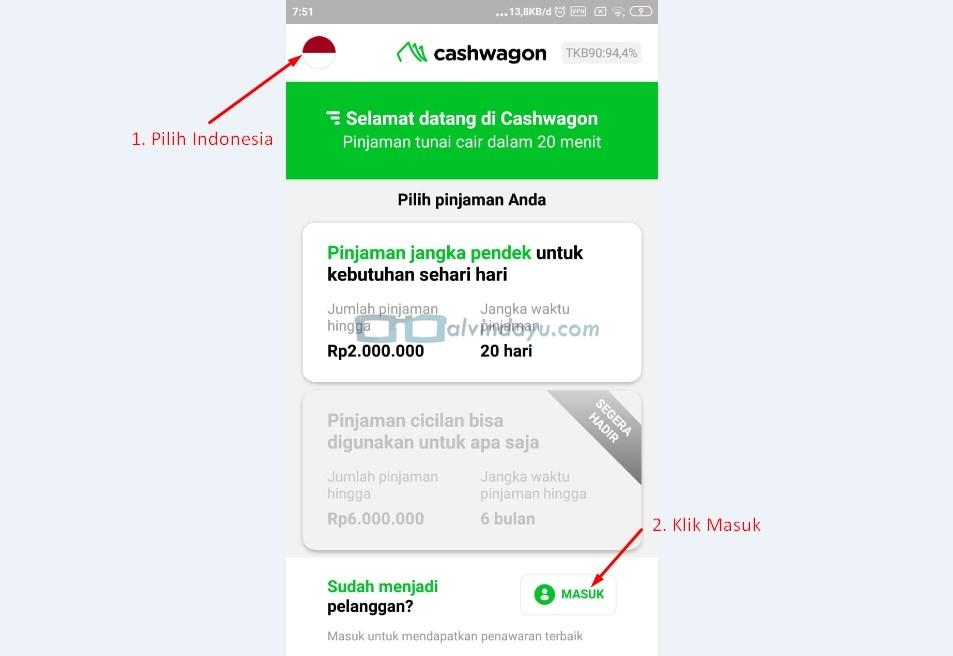 Login Cashwagon