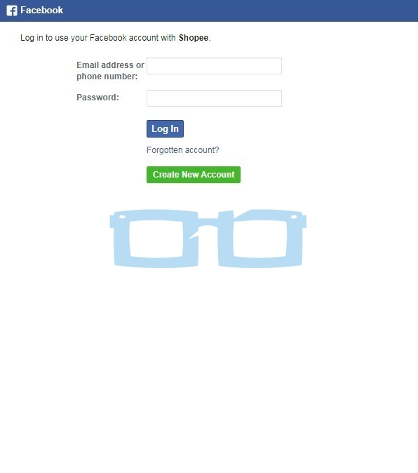 Cara Membuat Akun Shopee melalui Facebook