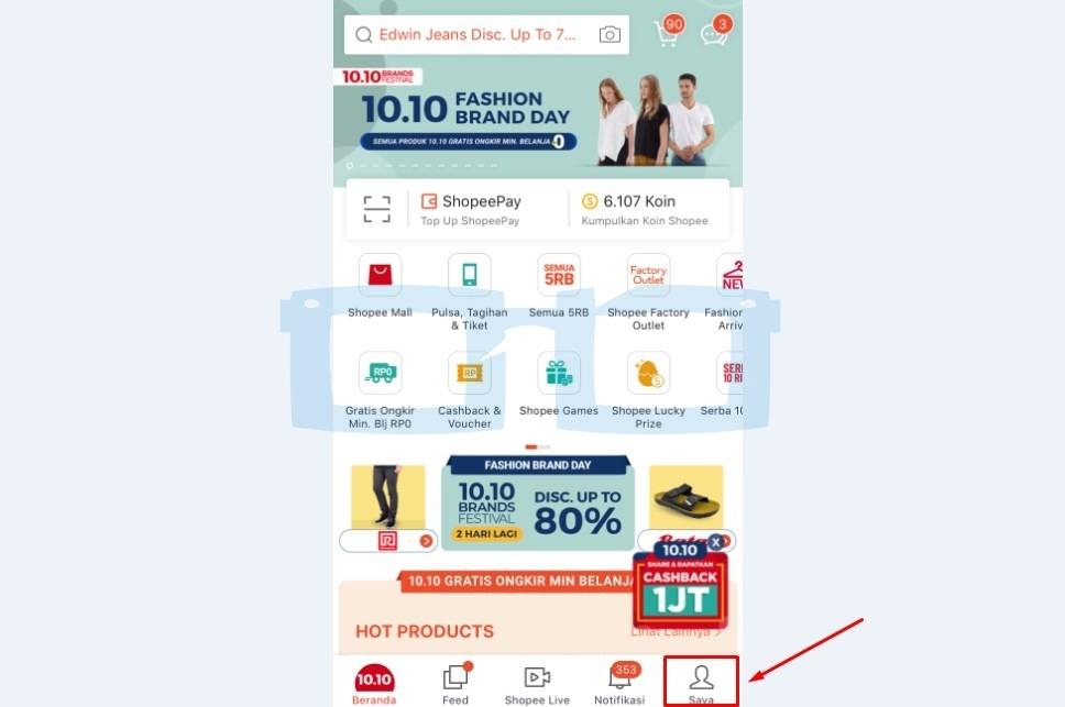Cara Ganti Nomor HP di Shopee Lewat Email di Pusat Bantuan Shopee