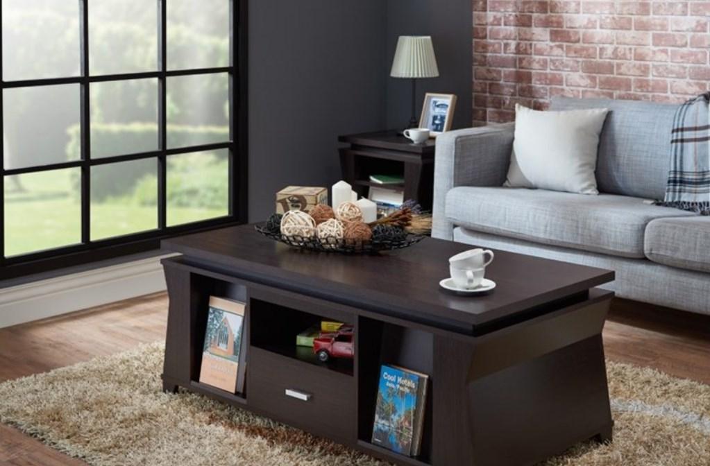 Furniture Meja Ruang Tamu Minimalis Multifungsi