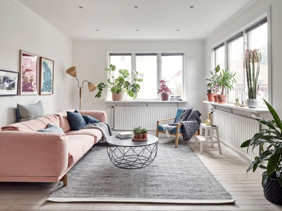 Model Gambar Furniture Minimalis Ruang Keluarga Modern