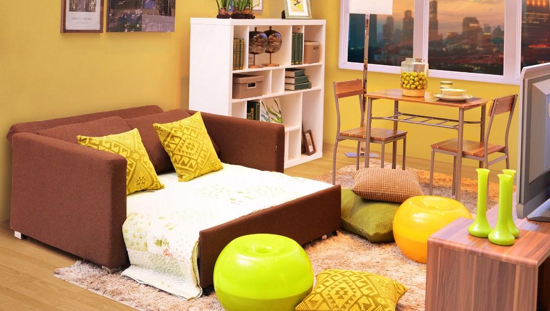 Ruang Keluarga dengan Furniture Minimalis Terbaru