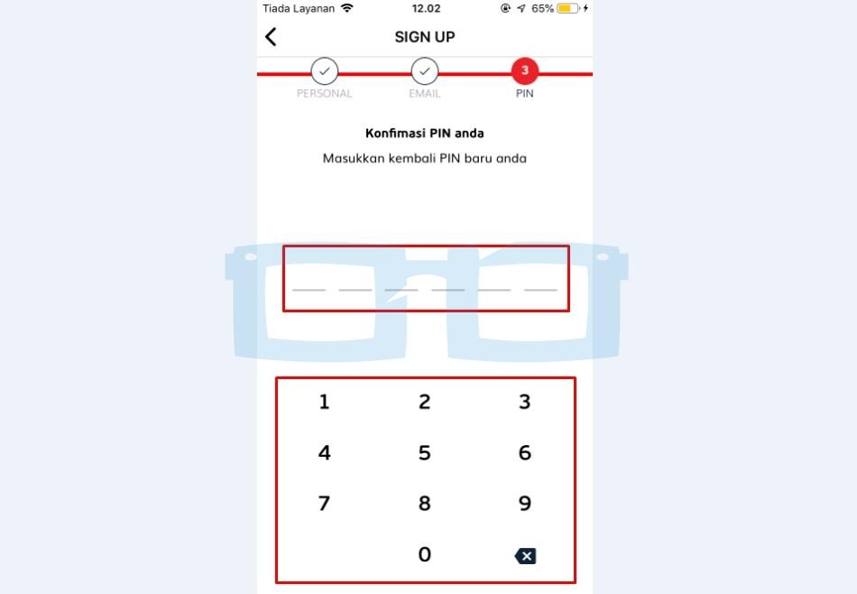 Konfirmasi PIN Link Aja New