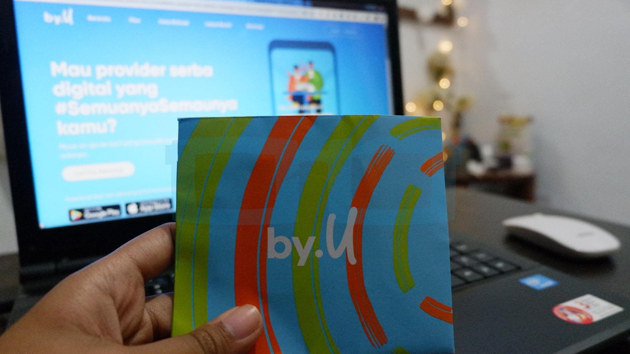 Cara Beli Kartu By U dari Telkomsel Online