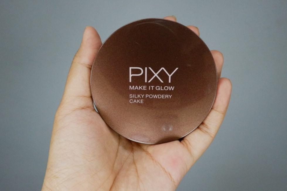 Harga Pixy Make It Glow Silky Powdery Cake