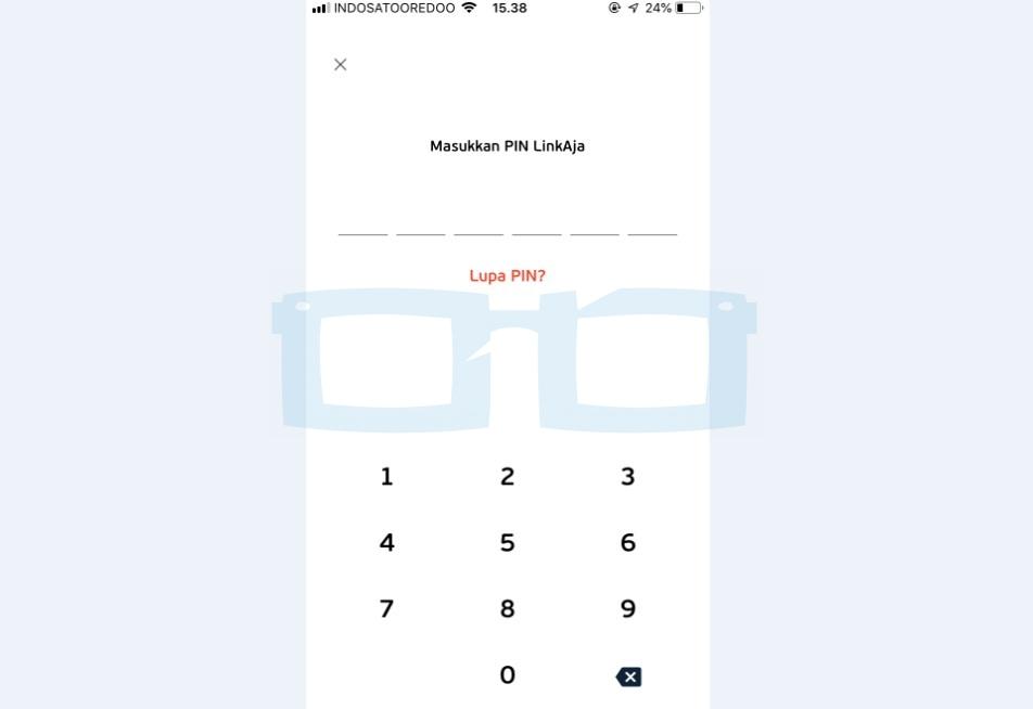 Masukkan PIN LinkAja Baru yang Sudah Direset dan Login Akun LinkAja Terblokir
