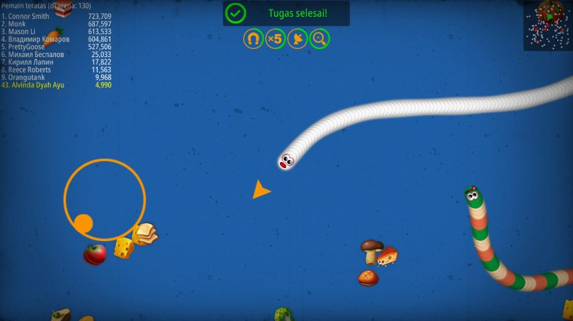 Serunya Main Worm Zone Game Cacing Io
