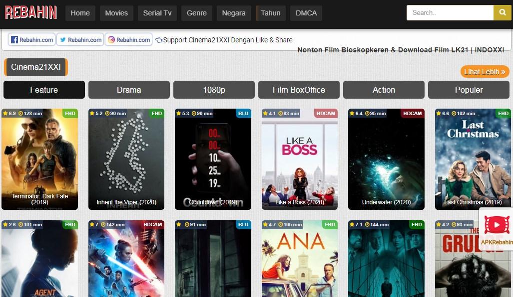 Situs download Film rebahin