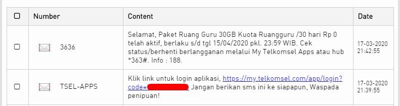 Tautan Login My Telkomsel