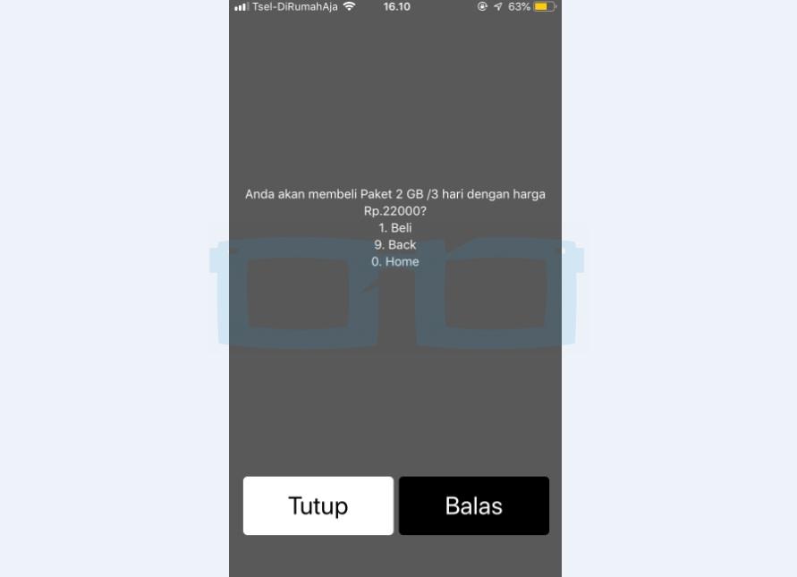 Beli Paket Internet Telkomsel 2GB Harga Murah