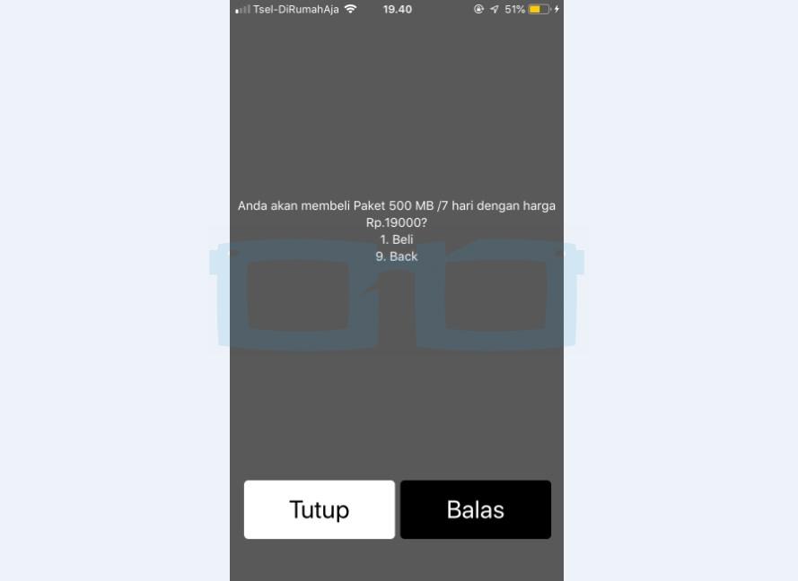 Beli Paket Internet Telkomsel Murah Kuota 500MB